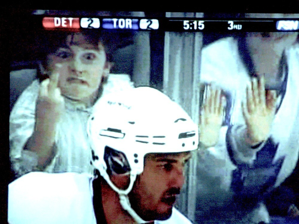 little kid flipping off Lilja