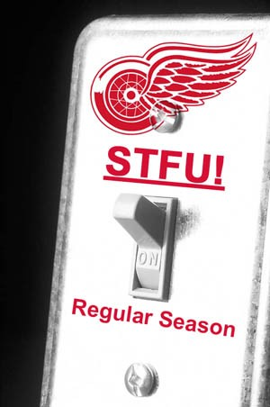 Red Wings Playoff Switch