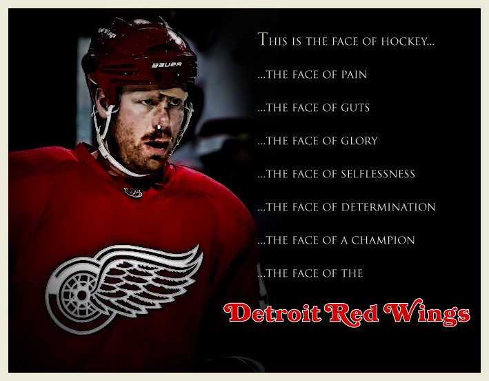 The Face of the Red Wings