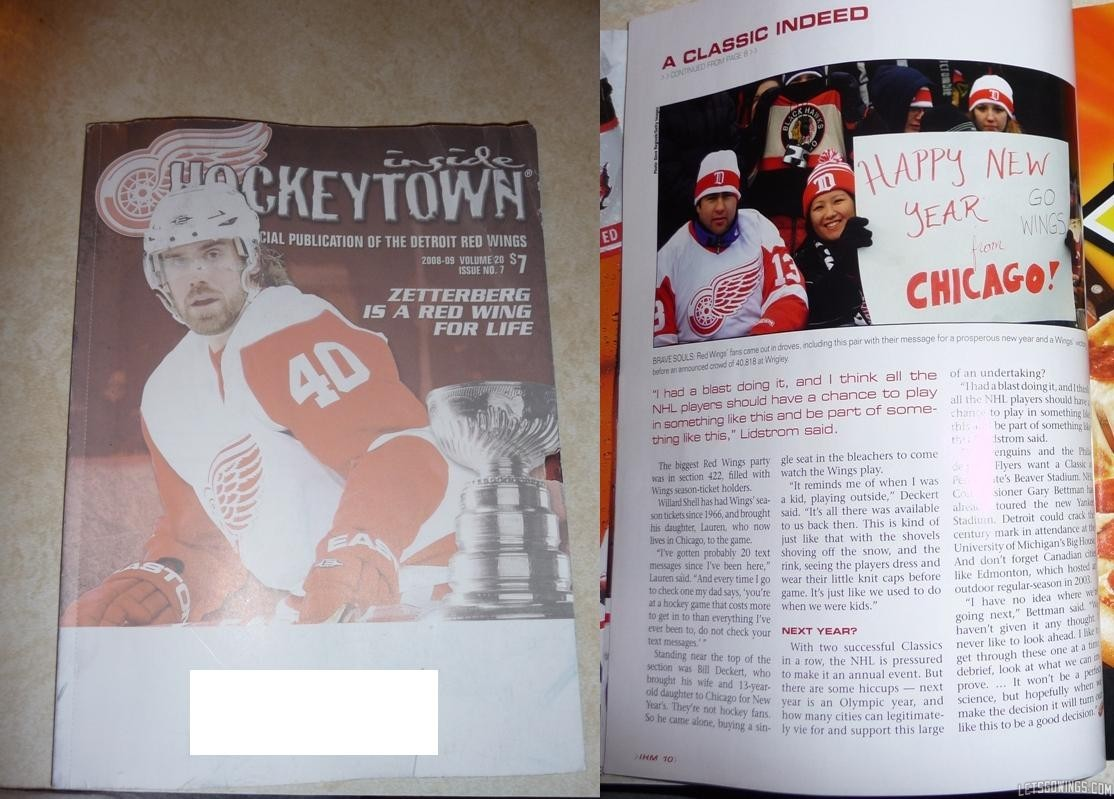 Inside Hockeytown Magazine