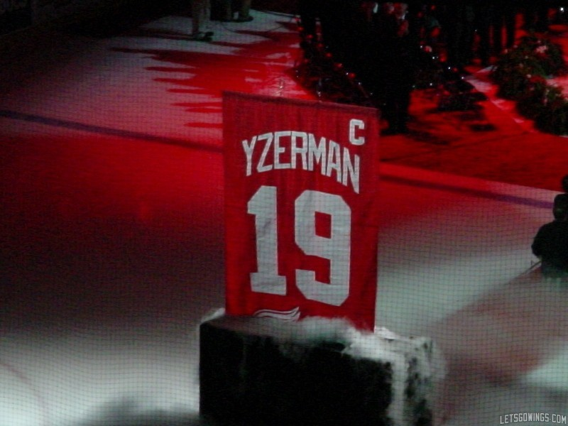Yzerman Retirement Game
