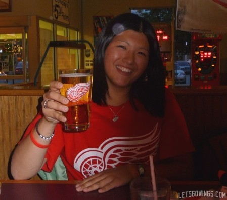 Red Wings Pint