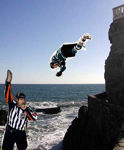Pavelski (cliff) Diving