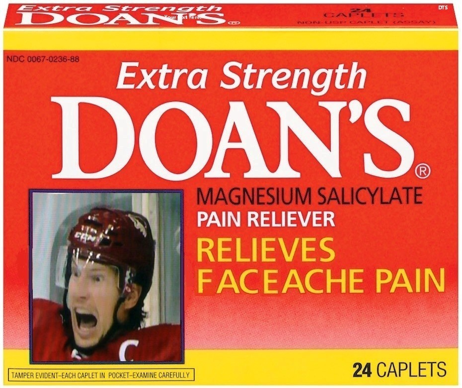 Doan's.  Take it for your face.