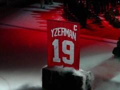 Yzerman Retirement Game