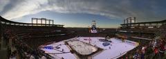 Stadium Series game warmup