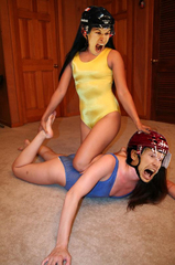 Crosby & Doan Faces Wrestle For It!