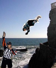 Pavelski (cliff) Diving