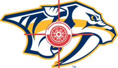 Red Wings VS. Predators Bullseye