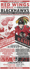 3/6 GDT : Detroit Red Wings at Chicago Blackhawks, 5:00PM EST