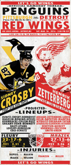 3/26 GDT : Pittsburgh Penguins at Detroit Red Wings, 2:00 PM ET