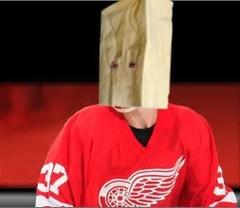Bag over Samuelsons head