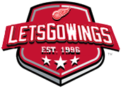 Lets Go Wings Shield