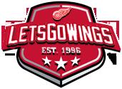 Lets Go Wings Shield